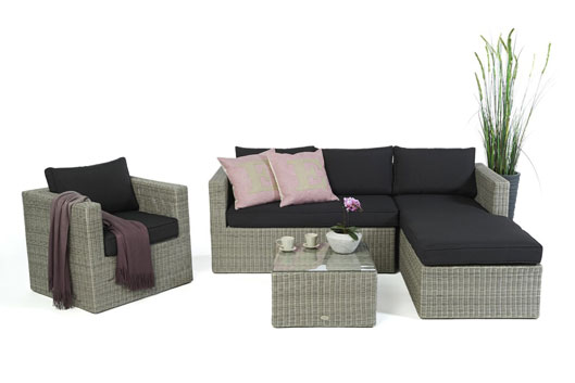 rattan kissentruhe f r die aufbewahrung der kissen g nstig. Black Bedroom Furniture Sets. Home Design Ideas